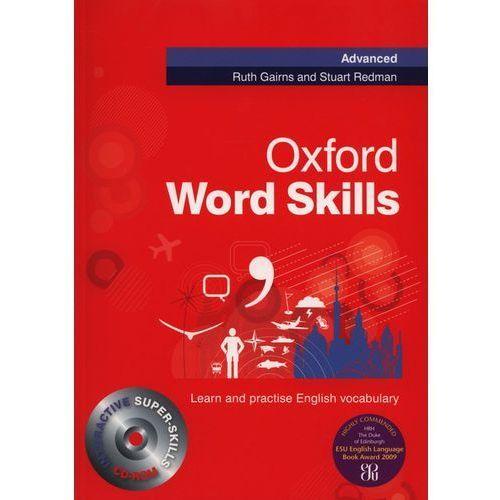 Książki do nauki języka, Oxford Word Skills Advanced Książka Ucznia Plus Audio CD (opr. miękka)
