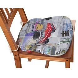 Dekoria Siedzisko Filip na krzesło, samochody retro, 41 × 38 × 3,5 cm, Freestyle do -30%