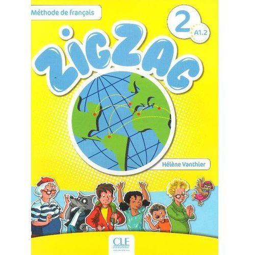 Książki do nauki języka, Zig Zag 2 A1.2 podręcznik + CD (opr. miękka)