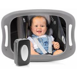 Lusterko XL do obserwacji dziecka lampka LED REER