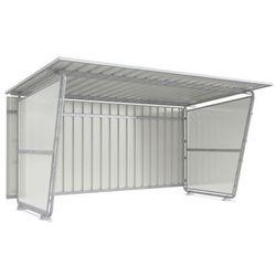 Ścianka boczna do zadaszenia płaskiego dachu,do wersji jednostronnej