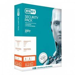 Eset Security Pack Box 3 PC + 3 smartfony 36m-cy - produkt w magazynie - szybka wysyłka!