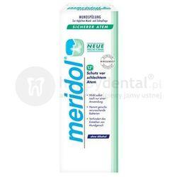 MERIDOL Safe Breath (Halitosis) Pewność Oddechu 400ml - płyn zwalczający przyczyny przykrego zapachu z ust