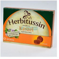 Herbitussin Kaszel,12 pastylek do ssania