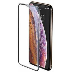Baseus SGAPIPH65-WA01 | Szkło ochronne hartowane na cały ekran z metalową osłoną na głośnik 9H do iPhone XS Max