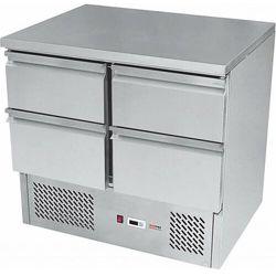 Stół chłodniczy czteroszufladowy | +2°C/+8°C | 240W | 900x700x(H)850mm