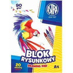 Blok rysunkowy Astra A4 90g