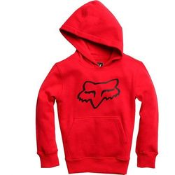 bluza FOX - Youth Legacy Pullover Fleece Dark Red (208) rozmiar: YL