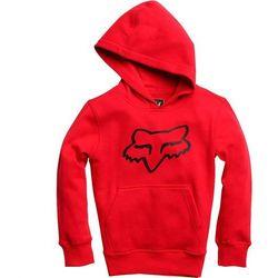 bluza FOX - Youth Legacy Pullover Fleece Dark Red (208) rozmiar: YXL