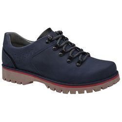 Półbuty buty trekkingowe KORNECKI 5330 Granatowe - Granatowy