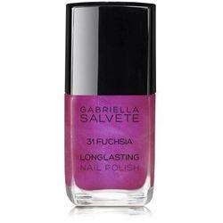Gabriella Salvete Longlasting Enamel lakier do paznokci 11 ml dla kobiet 31 Fuchsia