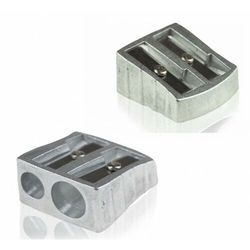 Temperówka aluminiowa z dwoma otworami