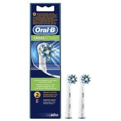 Oral-B końcówki do szczoteczki elektrycznej Cross Action 2 szt. (EB50-2)