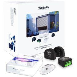 Fibaro Zestaw inteligentnego sterowania roletami: Home Center Lite, KeyFob, Roller Shutter x 3