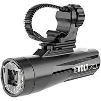Oświetlenie rowerowe, CatEye GVolt 70.1 Reflektor przedni, czarny 2021 Lampki przednie na baterie Przy złożeniu zamówienia do godziny 16 ( od Pon. do Pt., wszystkie metody płatności z wyjątkiem przelewu bankowego), wysyłka odbędzie się tego samego dnia.