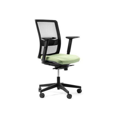 Fotele i krzesła biurowe, Fotel Simple Net D6 niebieski