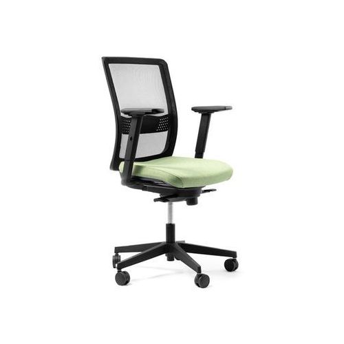 Fotele i krzesła biurowe, Fotel Simple Net D7 antracyt