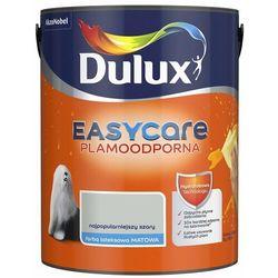 Farba wewnętrzna EASYCARE 5 l Najpopularniejszy szary Plamoodporna DULUX