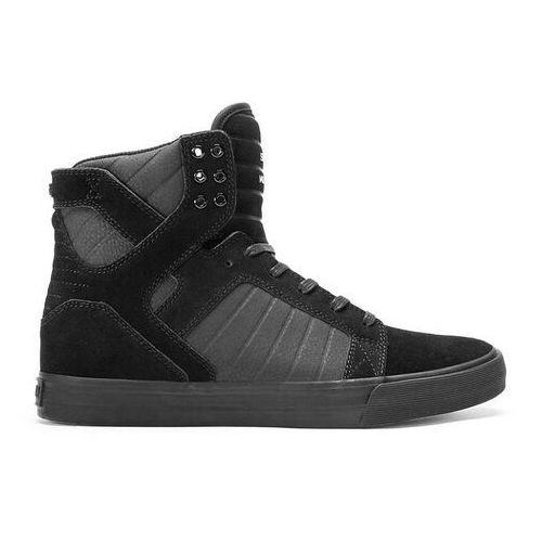 Męskie obuwie sportowe, buty SUPRA - Skytop Black/Black-Black (BBB) rozmiar: 37.5