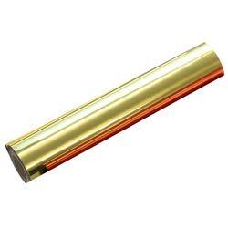 Metaliczna folia barwiąca Argo, rolka 20,3 cm x 122 m, złota, do wydruków laserowych monochromatycznych i kserokopii