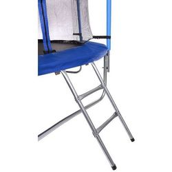 Trampolina 10ft (305cm) z siatką wewnętrzną Hop-Sport - 3 nogi - niebieski \ 10ft (305cm)