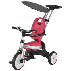 Rowerek trójkołowy BMW składany różowy Sun Baby J01.012.1.2