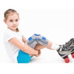 Dziecięca orteza stawu kolanowego zamknięta z listwami wspomagającymi wyprost, MD-133