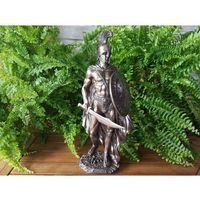 Rzeźby i figurki, FIGURKA SPARTAŃSKI WOJOWNIK AEONIDAS - VERONESE (WU76421A4)