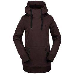 bluza VOLCOM - Polartec Ridin Hoody Black Red (BRD) rozmiar: XS
