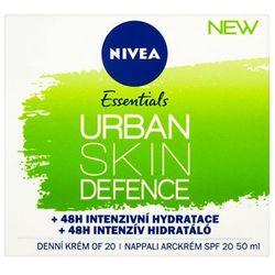 Nivea Essentials Urban Skin Defence SPF20 krem do twarzy na dzień 50 ml dla kobiet