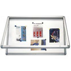 Gablota informacyjna suchościeralno magnetyczna 90x120cm 2x3 GS1129