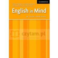 Książki do nauki języka, English in Mind PL Starter TB - książka