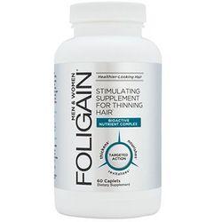 NOWY Foligain Suplement diety przeci wypadającym włosom 60 tabletek