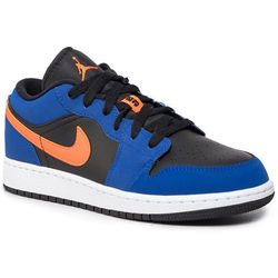 Buty NIKE - Air Jordan 1 Low (Gs) 553560 480 Rush Blue/Brillant Orange