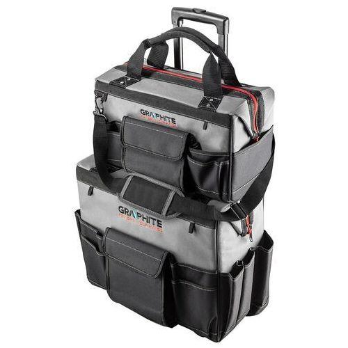 Torby narzędziowe, Zestaw dwóch toreb Energy+: duża torba na kółkach z rączką + średnia torba nadstawka