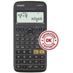 Kalkulator Casio, FX 350 CE X, czarna, szkolny, + gratis słuchawki Maxell