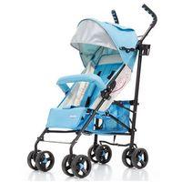 Wózki spacerowe, Wózek spacerówka City B niebiesko-srebrny