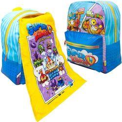 Super Zings plecak szkolny dla dzieci z peleryną superzings
