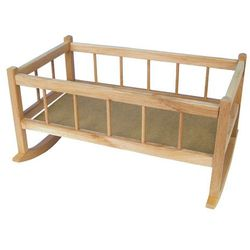 Teddies Kołyska drewniana dla lalek 50 cm - BEZPŁATNY ODBIÓR: WROCŁAW!