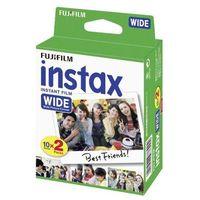 Klisze fotograficzne, Fujifilm INSTAX Wide 2 x 10 szt. - produkt w magazynie - szybka wysyłka!