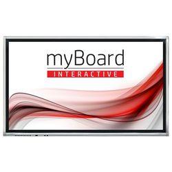 """Monitor interaktywny myBoard Grey D-LED 75"""" 4K UHD z Androidem - VAT 0% OFERTA TYLKO DLA SZKÓŁ!"""