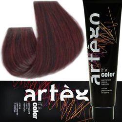 Artego it's color farba w kremie 150ml cała paleta kolorów 4.5 - 4rm mahoniowy brąz
