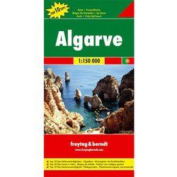 Algarve mapa 1:150 000 Freytag & Berndt (opr. twarda)