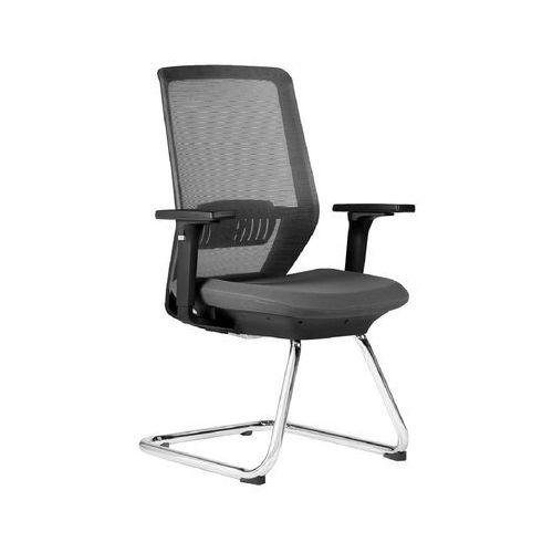 Fotele i krzesła biurowe, Krzesło konferencyjne SPECTRUM grafit