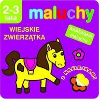 Literatura młodzieżowa, Akademia malucha - Maluchy. Wiejskie zwierzątka (opr. broszurowa)