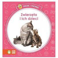 Książki dla dzieci, Rosnę i poznaję - Zwierzęta i ich dzieci (opr. kartonowa)