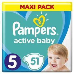 Pampers pieluchy Active Baby Dry Maxi Pack S5 51szt- natychmiastowa wysyłka, ponad 4000 punktów odbioru!