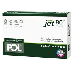 Papier do drukarki POLJET A4 80g - KURIER UPS 14PLN, Paczkomaty, Poczta