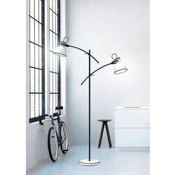 Candellux Zumba 52-72672 lampa podłogowa stojąca 2x40W E14 biały / czarny
