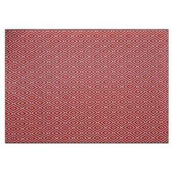 Dywanik zewnętrzny Rural 120 x 170 cm różowy/terakota